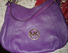 NWT-Mickael Kors Pomegrant Purple Shoulder Bagt- Gorgeous