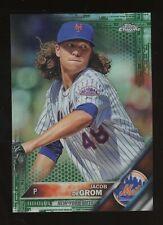 2016 Topps Chrome Green Refractor Jacob DeGrom New York Mets 86/99