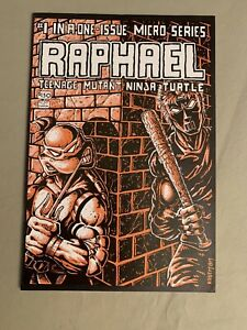 raphael 1 1st print TMNT Complete Mirage Studios VF- 7.0 Awesome Condition