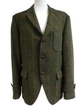 """Gibson London Gents Brown Wool Tweed Jacket 40"""" R"""