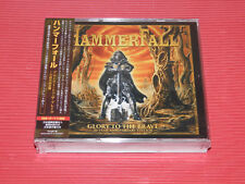 2017 JAPAN 2 CD + DVD  HAMMERFALL GLORY TO THE BRAVE 20 YEAR ANNIVERSARY