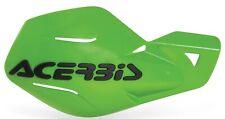 Acerbis Uniko Handguards Hand Guards MX Green Kawasaki KX60 KX65 KX85 Motocross