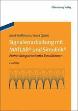 Signalverarbeitung Mit MATLAB und Simulink : Anwendungsorientierte...