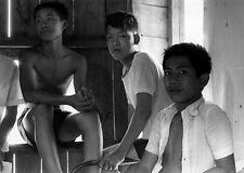 Vietnam 1971 - Orphans At The Vagabond Boys Home In Vung Tau