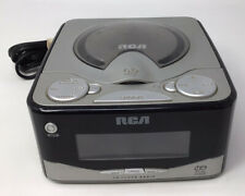 Rca Dual-Wake Cd Player- Am/Fm Radio Alarm Clock with Battery Backup Please Read