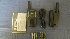 Cobra 2 way Radio Set with Usb Charger Cord and Batteries (Never used)