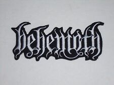 BEHEMOTH IRON ON EMBROIDERED PATCH