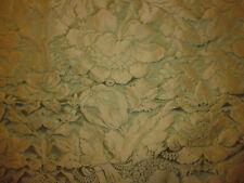 tissu ameublement damas soie vert décor style Régence Tassinari Lelièvre 49x130