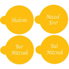 Designer Stencils Decorating Stencil Jewish Greetings, Letters for 2""