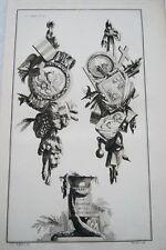 EAU FORTE JEAN CHARLES DELAFOSSE-VOYSARD BOHEME ET HONGRIE-TROPHEES 1772