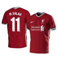 Liverpool Salah #11 Home Jersey Medium