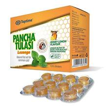 Pancha Tulasi Lozenges (12 X 5=60) Helps in cough and smoker's cough 100% Pure