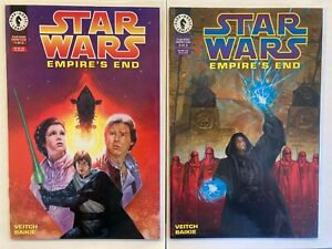Star Wars Empire's End #1 & 2 DH Full Set - Dark Empire trilogy finale 1995