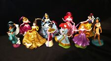Disney Sparkling Princess Christmas Ornament set of 10 Deluxe Cinderella Merida
