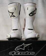 ALPINE STARS S-MX 5 MOTORCYCLE BOOTS 43 - WHITE - RRP £149.99 OUR PRICE £99.99!