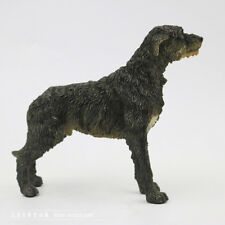 Resin MINI Irish Wolfhound dog Hand Painted simulation model Figurine statue