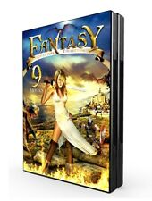 Fantasy Adventure Collection 9 Movies, David Warner, MOONBEAM FILMS - 2 DVD set!