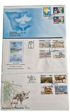 More details for namibia stamps fdc 1990-93
