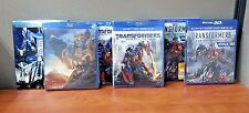 Transformers Tripple Feature  ( Blu-ray )  All w/Slipcovers   BRAND NEW