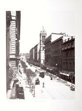 STAMPA FOTO ALINARI ROMA - VIA NAZIONALE, 1890 ca.
