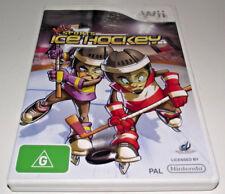 Ice Hockey Kidz Sports Nintendo Wii PAL *Complete* Wii U Compatible
