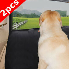 2Pcs Pet Car Seat Covers Set Anti-Scratch Waterproof Pet Car Door Protector sa