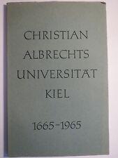 Karl Jordan - Christian Albrechts Universität Kiel - 1665-1965 / Studentika