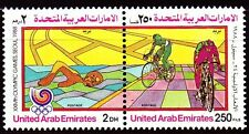 UAE 1988 ** Mi.259/60 Zdr. Olympische Spiele Olympic Games Sport Sports