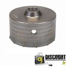 Scie Cloche Trépan TCT 110mm en carbure pour Béton / Brique / Cellulaire