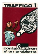 anni 60/70  - Cartolina pubblicità VESPA >> molto bella!!!   -e-