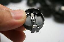 1000pcs 3V CR2025 CR2032 Button Coin Cell Computer Battery Socket Holder Case