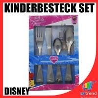 "Kinderbesteck Set 4 teilig, Disney Princess ""Rapunzel"" Motiv Edelstahl Rostfrei"