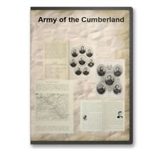 Army of the Cumberland - 16 Historic Civil War Union Books Rosecrans CD D475