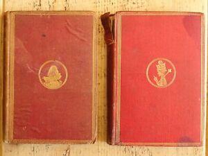 1871-1872 2Vol Alice's Adventures in Wonderland & Through the Looking Glass RARE