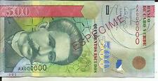 CAPE VERDE 500 ESCUDOS 2007  P 69  SPECIMEN  UNC. 5RW 16FEB