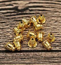 Stud Earring Backs Bullet Barrel Earnut Stopper Safety Clutch Ear Nut Bell Parts