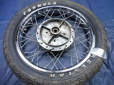 1972 Yamaha RD350 RD250 Y596' rear wheel rim 18in
