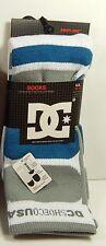 DC Shoes Men's Performance Skate Socks Size 10-13 New Cushion Comfort Breathable