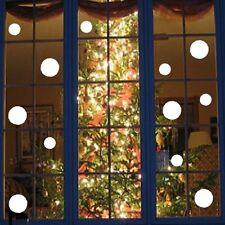 Christmas Decoration SNOWBALL Window Stickers