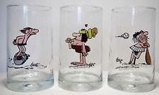 Vintage Arby's B.C. Ice Age Thor Comic Collector's Series Glasses Lot 1981 Hart