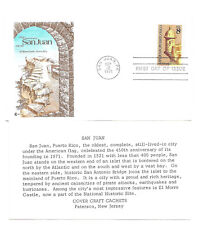 1437  San Juan Puerto Rico Cover Craft Cachats, CCC, FDC
