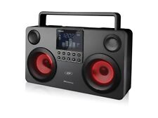 SDigital GB-3700 Commando Bluetooth Boombox Lightshow Stereoanlage Radio USB SD