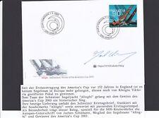 SOS Kinderdorf Segeln Alinghi Jochen Schümann 2003