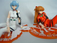 Evangelion Flash a Smile Figures 1.5 Rei Ayanami & Asuka Langley Completed set