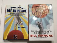 Lot of 2 Bill Simmons Sports Guy Books Die in Peace Basketball Book ESPN Ringer