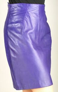 NORTH BEACH   PURPLE LEATHER  SKIRT -  fits size 5/6
