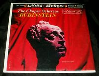 RCA LIVING STEREO Red Seal LSC-2368 Chopin Scherzos Rubinstein LP NEW SEALED !!