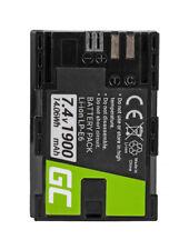 LPE6N LP-E6N Kamera Akku für Canon 1900mAh