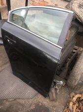 2011 Toyota Avensis Saloon Driver Side Rear Door Shell Only Black 2010-2014