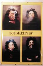 "BOB MARLEY - COLLAGE MUSIC POSTER - 24""x33.75"" NOS (b218)"